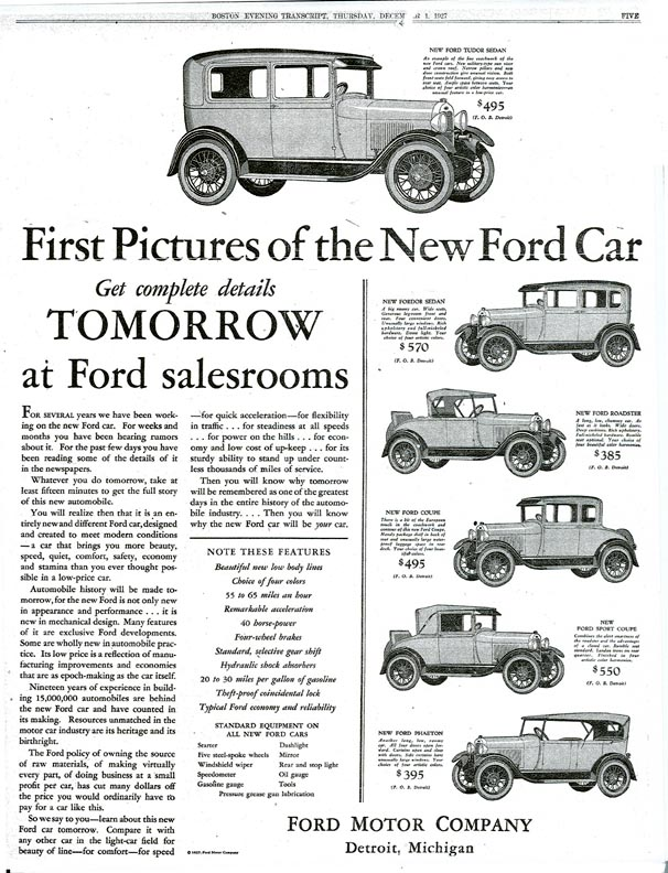 Image result for the ford model a